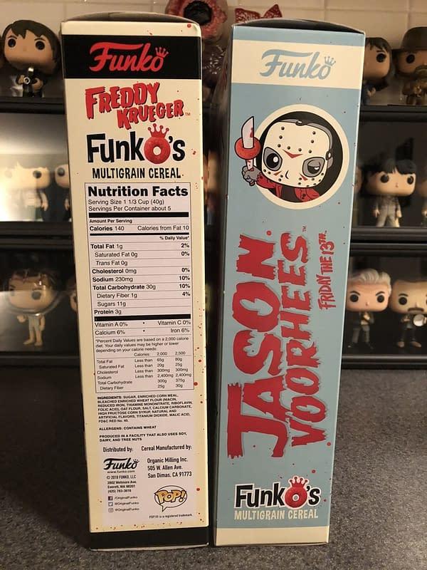 Funko FunkO's Cereal Jason and Freddy 2