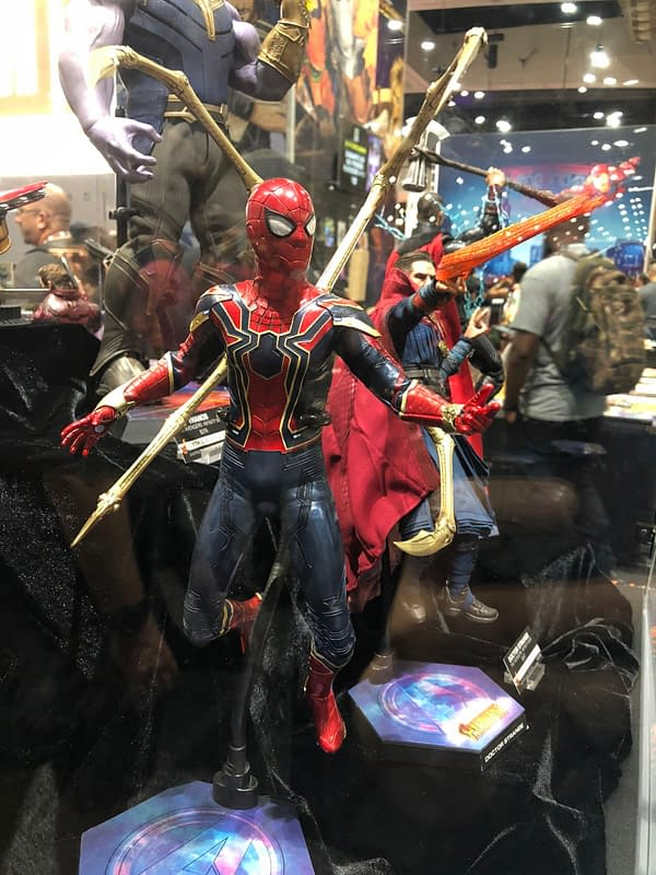 Check Out 77 Pics From the Hot Toys Display at SDCC