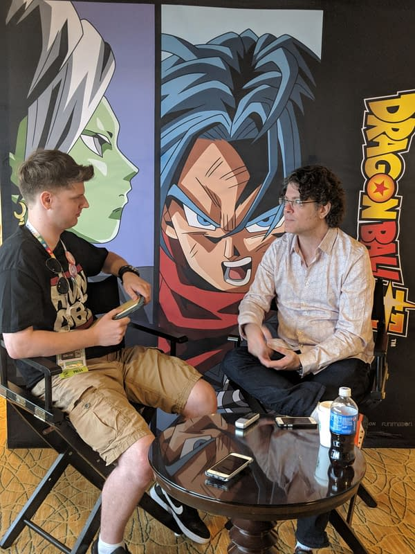 Sean Schemmel on Talking to Walking Dead Fans about Dragon Ball in Hall H at San Diego Comic-Con