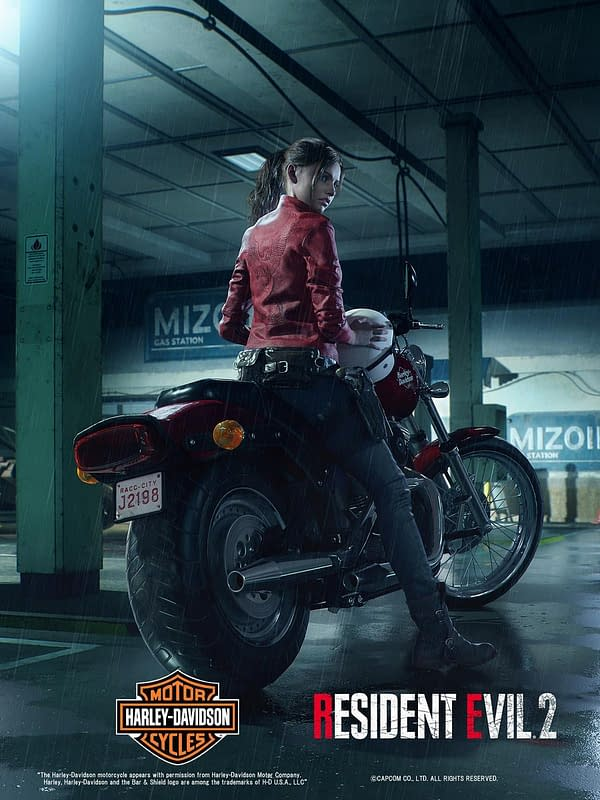 Capcom Reveals Claire Redfield's Appearance in Resident Evil 2