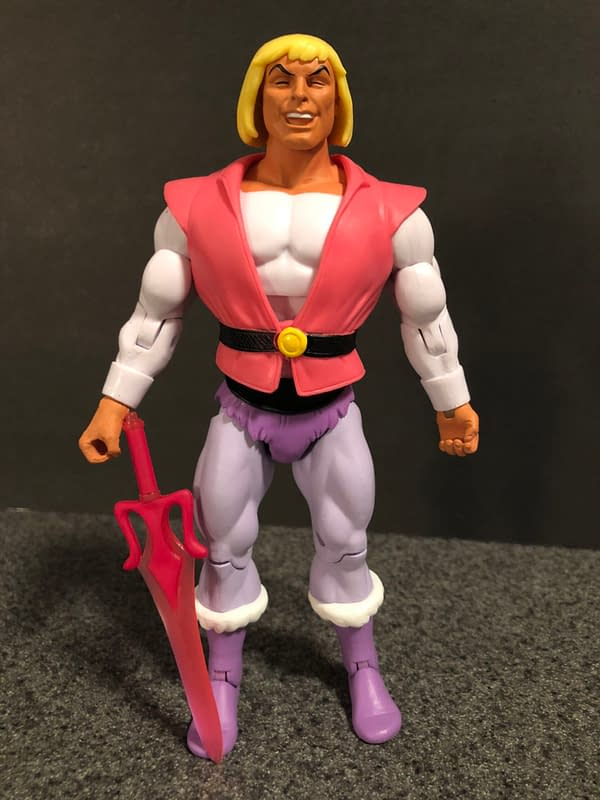 Super7 Masters of the Universe Laughing Prince Adam 4