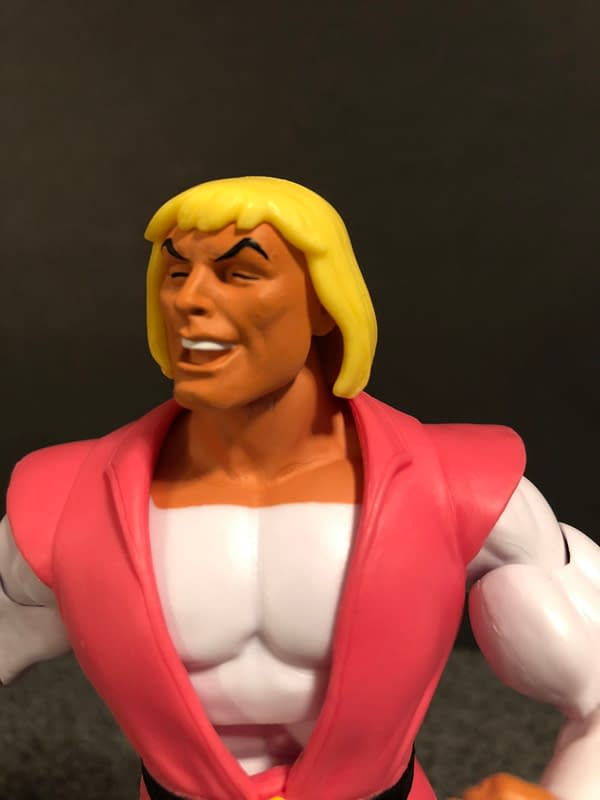 Super7 Masters of the Universe Laughing Prince Adam 9
