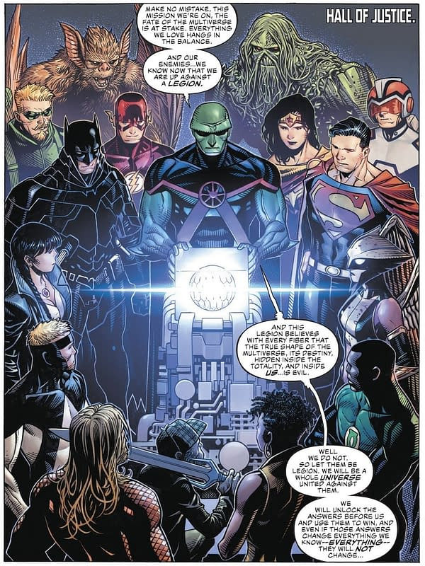 Is Scott Snyder Making a Point About Current Comics Culture Wars in Justice League?
