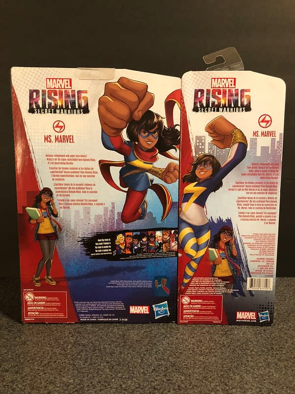 Hasbro Marvel Rising Line 3