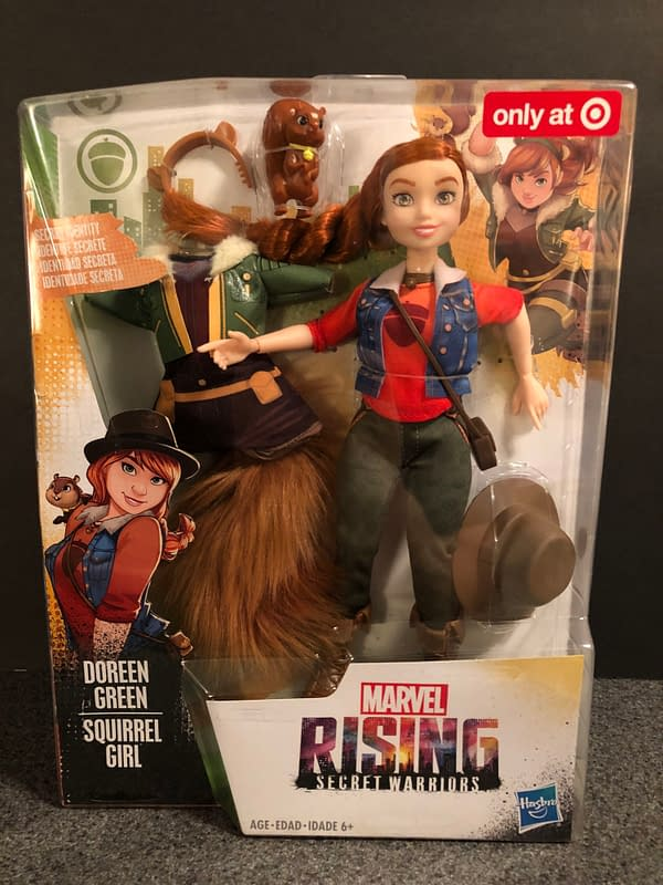 Hasbro Marvel Rising Line 5