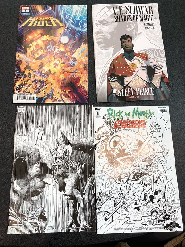 The Swag From The Diamond Retailer Breakfast at NYCC