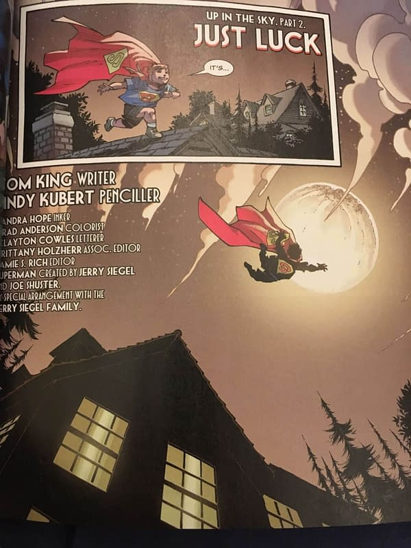 How Tom King and Andy Kubert's Superman Pushes Walmart's Buttons