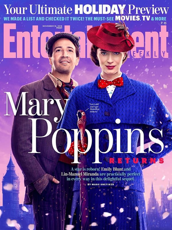 Check Out EW's Practically Perfect 'Mary Poppins Returns' Holiday Issue
