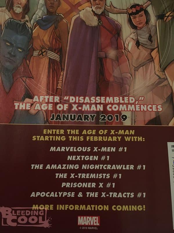 6 New X-Men Comic Books for February 2019