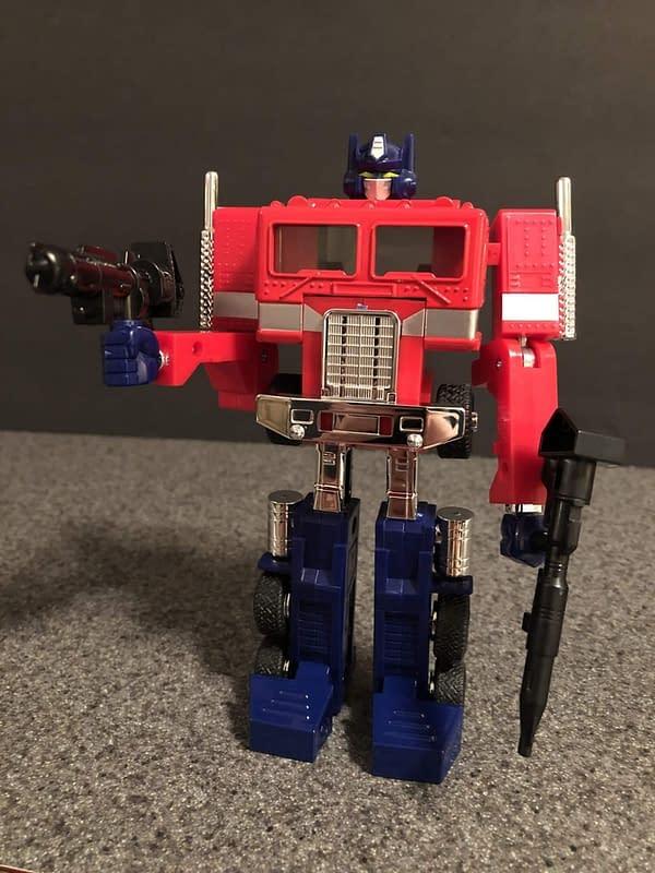 Transformers G! Reissue Walmart Optimus Prime 12