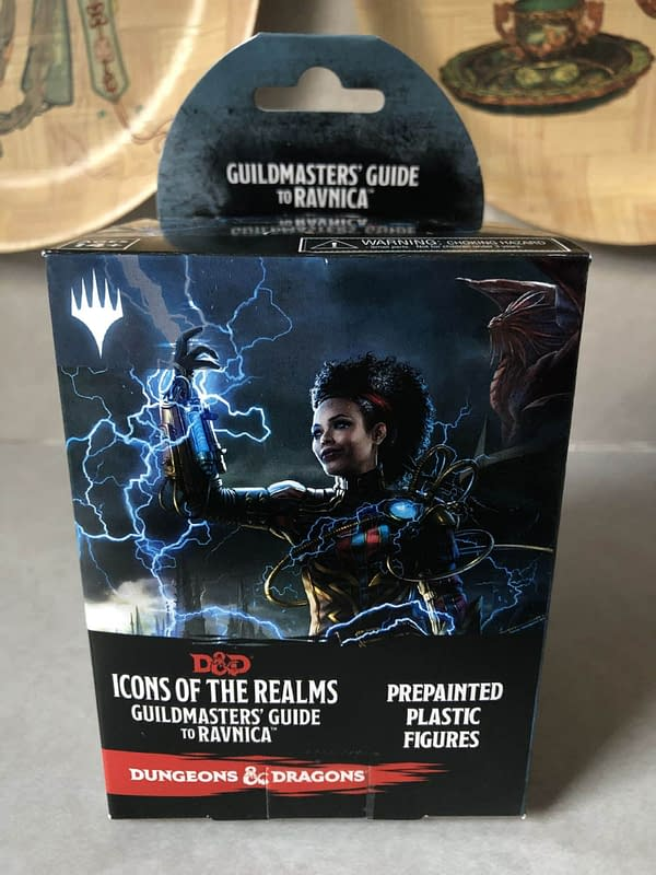Review: Wizkids' D&D Icons of the Realms Ravnica Figures