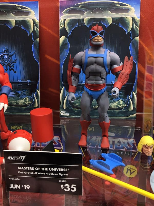 New York Toy Fair: 80+ Pics From Super7, Masters of the Universe and More!
