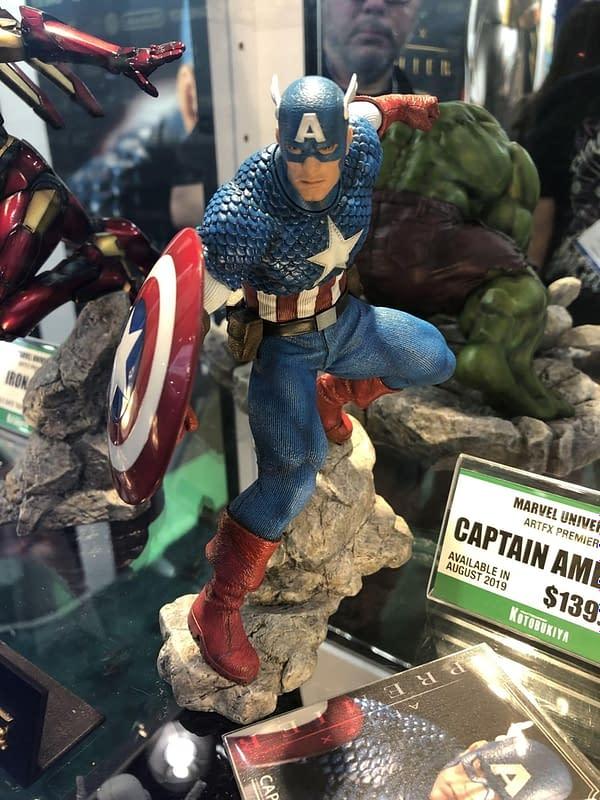 New York Toy Fair: Visiting the Kotobukiya, Storm Collectibles, and Dark Horse Booths