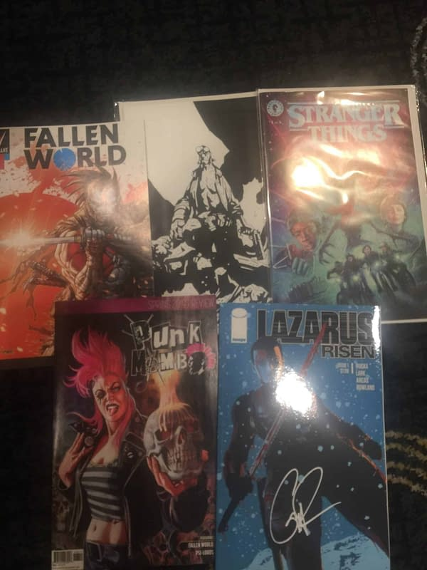 Foiled Again – Swag From the ECCC 2019 Retailer Breakfast and Show Floor…