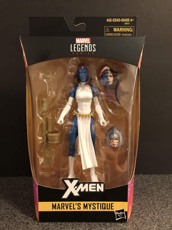 Let's Take a Look at the Walgreens Exclusive Marvel Legends Mystique