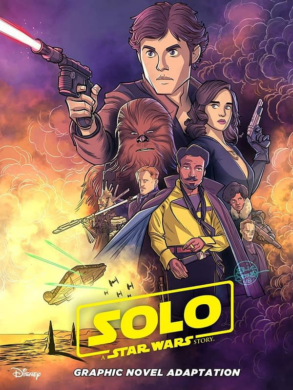 'Solo' Graphic Novel Adaptation Perfect Star Wars for Young Readers (REVIEW)