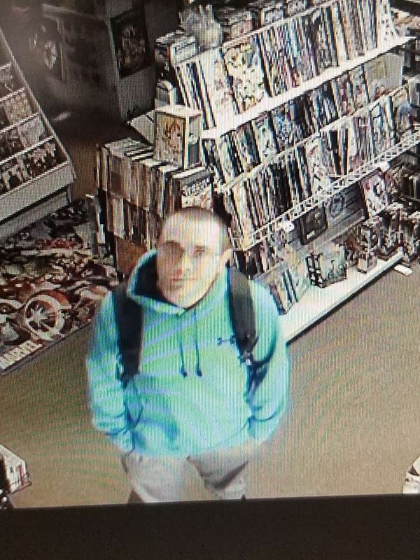 Meet 'Pants Book Guy' - Who Stole $300 of Comics Down His Trousers