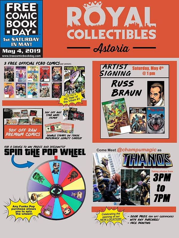 More Comic Stores Opening on Free Comic Book Day