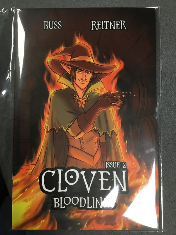 Cloven Bloodlines #2 by Kit Buss/AnemoneTea at MCM London Comic Con – Without Critical Role