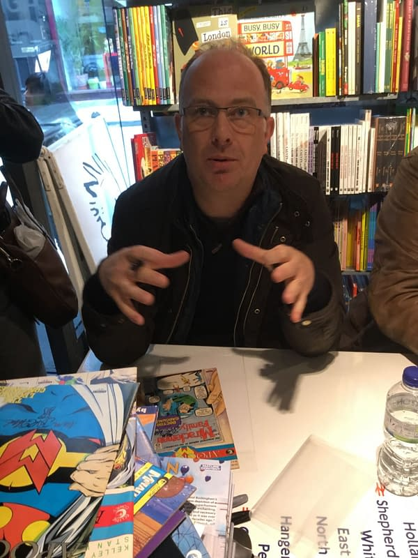 Mark Buckingham on Co-Writing the Miracleman Conclusion with Neil Gaiman