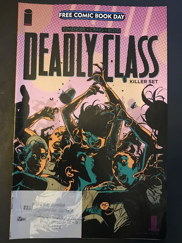 BC FCBD Roundup: Deadly Class Killer Set