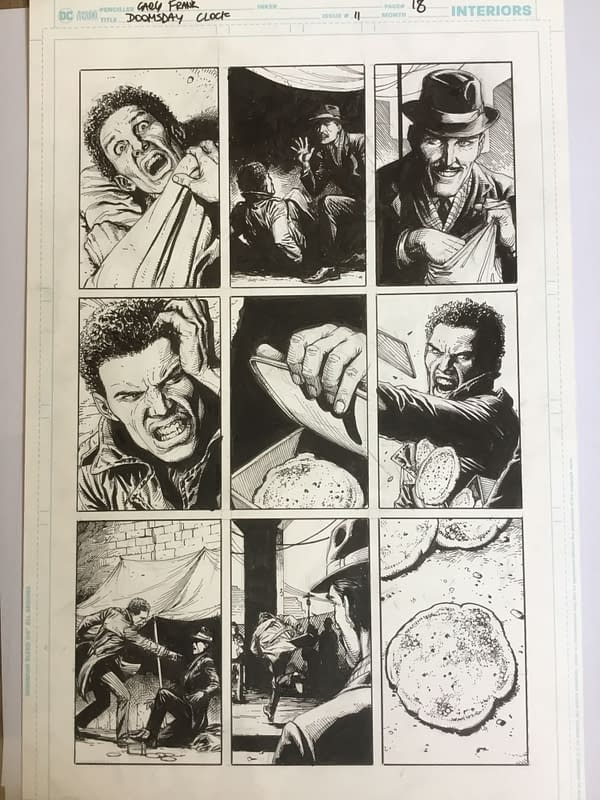 Okay, So I Just Bought a Page of Doomsday Clock at MCM London Comic Con