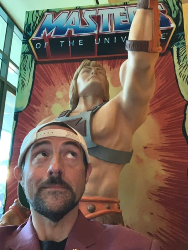 Kevin Smith and Masters of the Universe: Revelation (Image: Netflix/Kevin Smith)