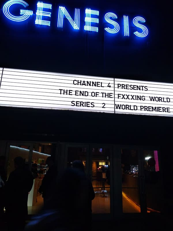 World Premiere of The End Of The F***ing World Transforms London Cinema