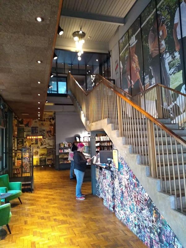 Destination Venus, Harrogate's Only Comic Shop, is Inside the Cinema