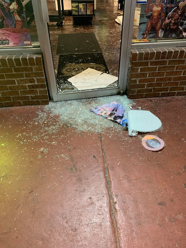A New Year's Eve Break-In At A Comic Shop