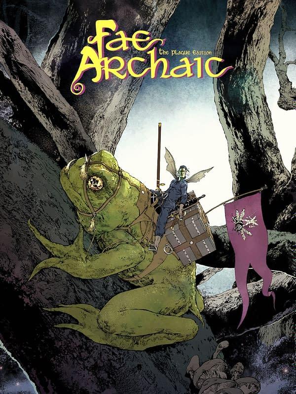 Digital Version of Fantasy Graphic Novel, Fae Archaic, Now Free