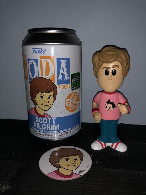 Scott Pilgrim Funko Soda