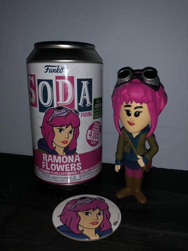 Scott Pilgrim Funko Soda Ramona Flowers