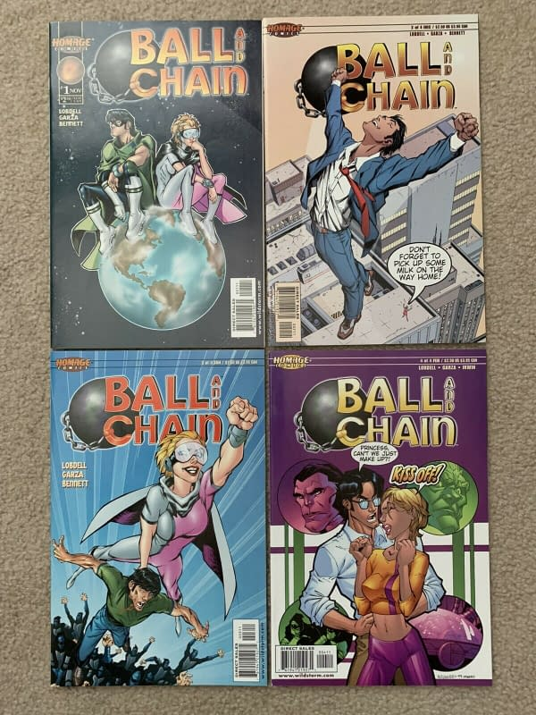 Ball And Chain #1 $56 After Netflix Deal With The Rock and The Blunt.