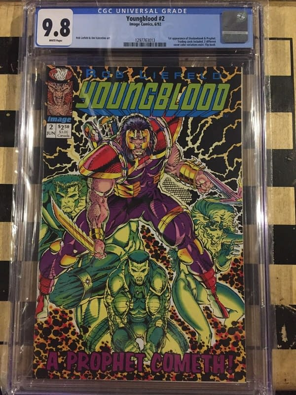 Youngblood #2 Hits $100 on eBay After Prophet/Marc Guggenheim Movie News.