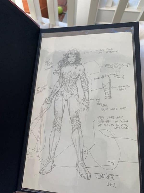 Jim Lee Sees Diane Nelson's #ComicWritersChallenge Gets $20K Bid.
