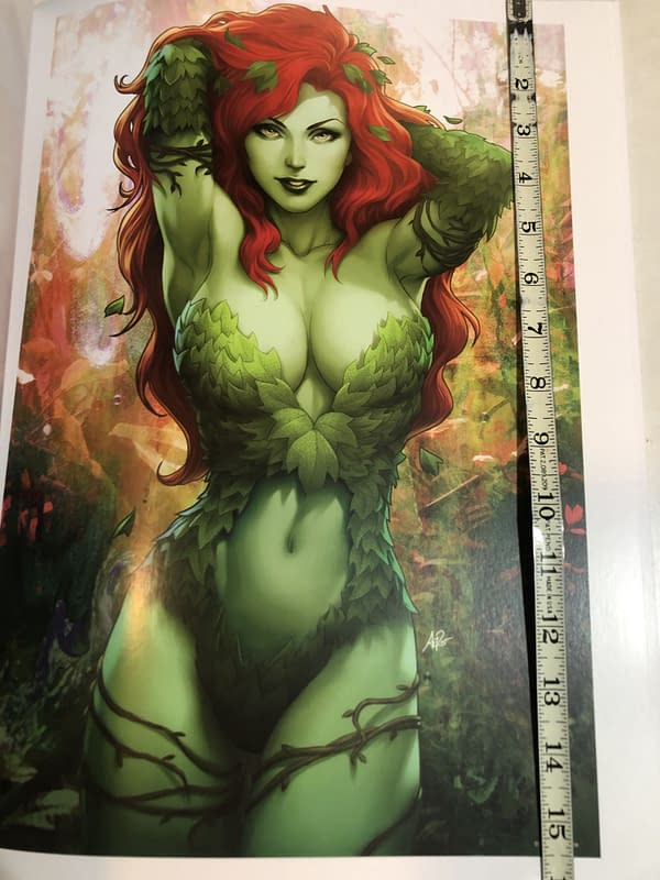 "Poison Ivy Poster 16"" Tall"