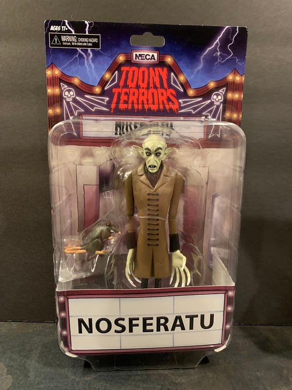 Let's Take A Look At NECA's New Wave Of Toony Terrors Figures