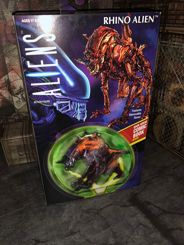 The New NECA Rhino Alien Figure is Terrifyingly Awesome