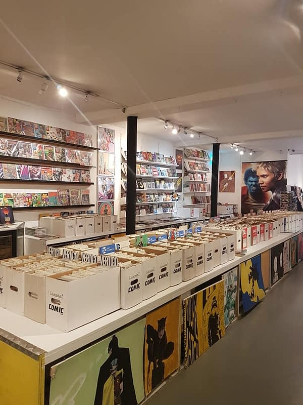 Orbital Comics of London Reopens (Ish) With a Barista and a 50% Sale