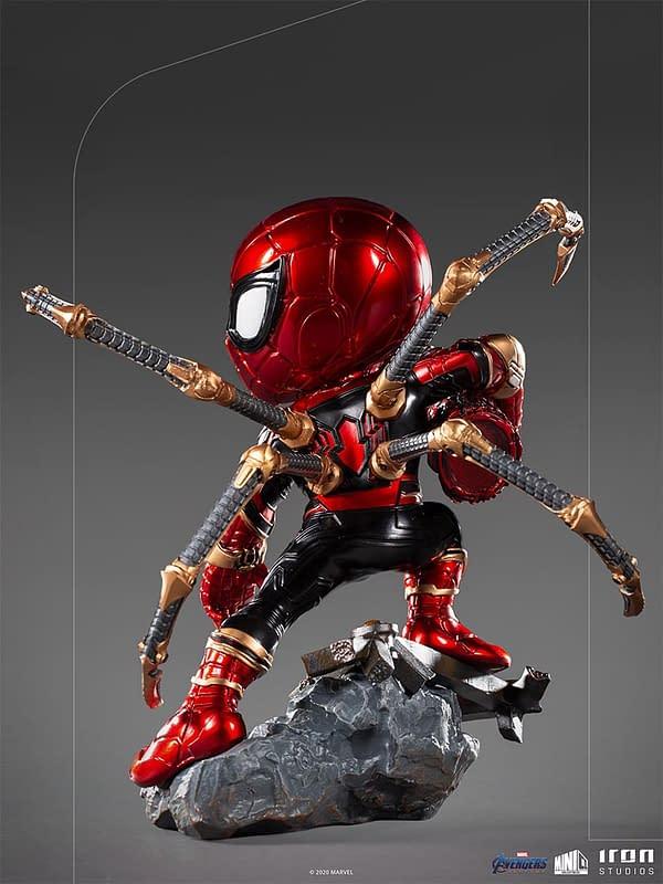 Spider-Man Iron Spider Gets New MiniCo Iron Studios Statue