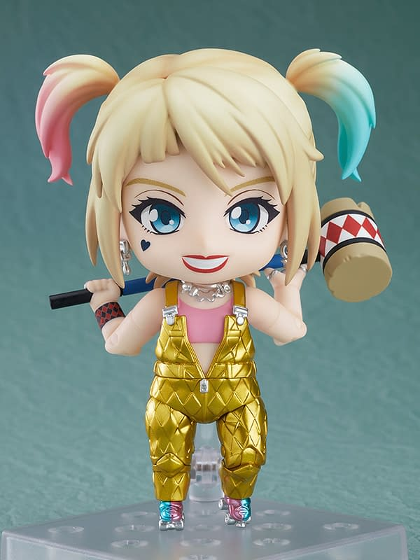Harley Quinn Birds of Prey Gets New Nendoroid from Good Smile Company