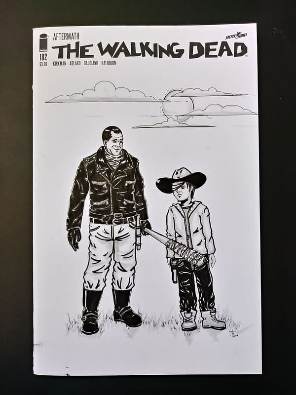 The Walking Dead: Honoring TWD with Your Own DIY Comic Book Cover