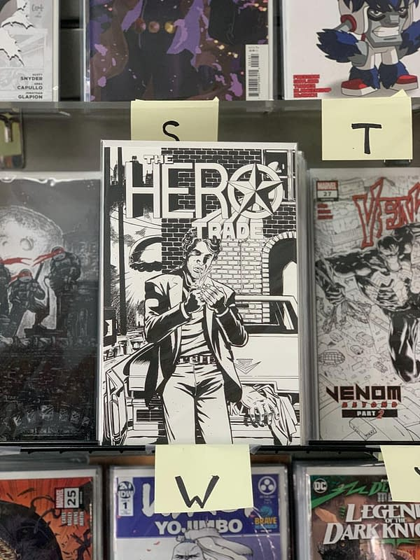 Hero Trade by Matt Kindt, David Lapham in Some Comic Shops Tomorrow