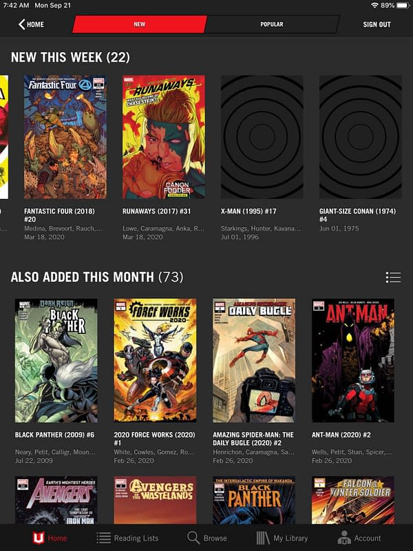 Marvel Unlimited Publish Atlantis Attacks #4 Before Its Out In Print