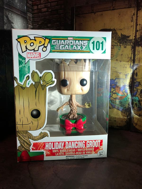 Funko MCU - Guardians of the Galaxy - Groot Edition