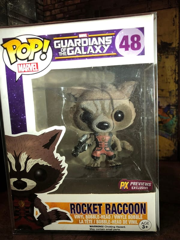 Funko MCU - Guardians of the Galaxy - Rocket Edition