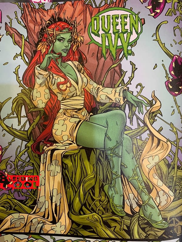 That New Look - And New Name - for Poison Ivy, Revealed (Spoilers)