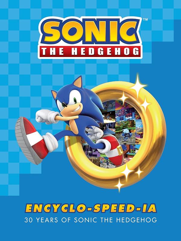 A look at the Sonic Encyclo-Speedia-Ia from Dark Horse Comics (not final art). Courtesy of SEGA.