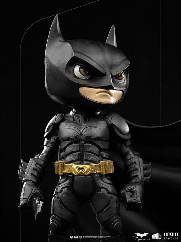 Batman Looks Over Gotham with New Minico Statue from Iron Studios